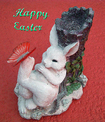 Photograph - Happy Easter Card 5 by Aimee L Maher Photography and Art Visit ALMGallerydotcom