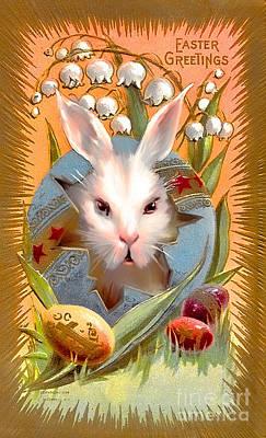 Happy Easter For All. Original by Andrzej Szczerski