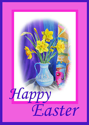 Royalty-Free and Rights-Managed Images - Happy Easter by Irina Sztukowski