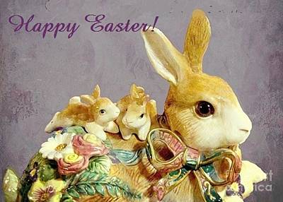 Photograph - Happy Easter by Janette Boyd