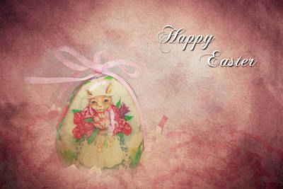 Photograph - Happy Easter by Kathy Nairn
