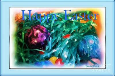 Photograph - Happy Easter Card by Lorelle Gromus