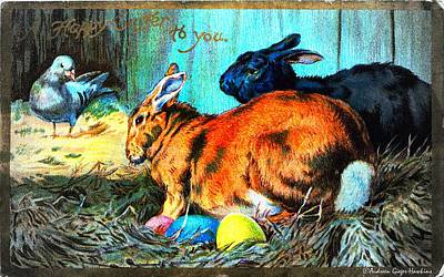 Photograph - Happy Easter To You by Audreen Gieger