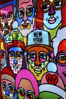 Photograph - Happy Faces Happy Places New York by Ian  Ramsay