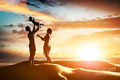 People Photograph - Happy Family Together  by Michal Bednarek