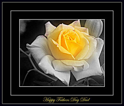 Photograph - Happy Fathers Day Dad by Rosemarie E Seppala