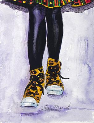 Happy Feet No. 2 Art Print