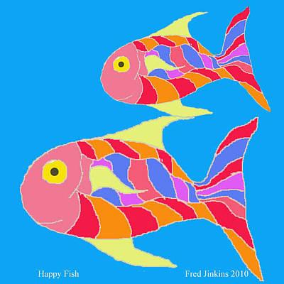 Happy Fish  Original