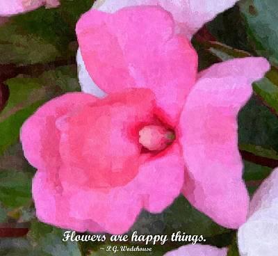 Photograph - Happy Flowers by Brenda Stone