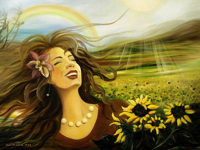 Painting - Happy by Gina De Gorna