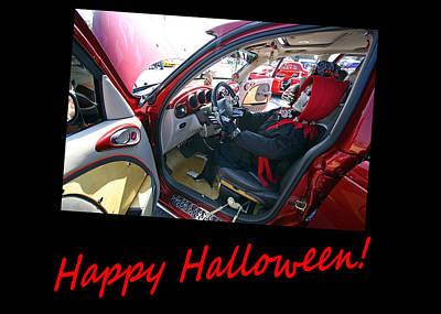 Photograph - Halloween Greeting Card 3 by Joseph C Hinson Photography