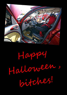 Photograph - Halloween Greeting Card 4 by Joseph C Hinson Photography