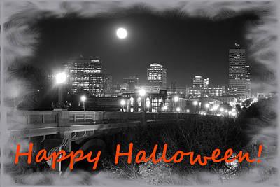 Photograph - Happy Halloween Columbia 10 by Joseph C Hinson Photography