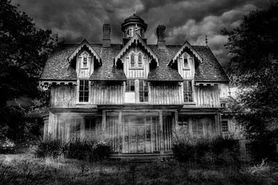 Haunted House Photograph - Haunted by Fran J Scott