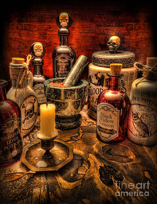 Voodoo Doll Photograph - Happy Halloween II by Lee Dos Santos