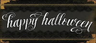 Painting - Happy Halloween by Jennifer Pugh