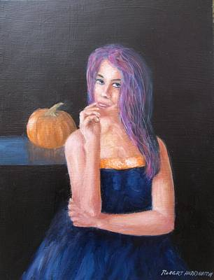 Painting - Happy Halloween by Robert Harrington