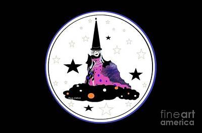 Mixed Media - Happy Halloween by Ann Calvo