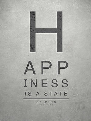 Eye Chart Digital Art - Happy Happiness I by South Social Studio