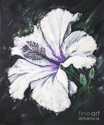 Happy Hibiscus Art Print