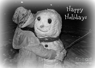 Photograph - Happy Holiday Kiss by Heidi Manly