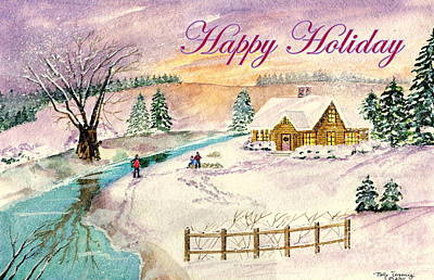 Painting - Happy Holiday by Melly Terpening