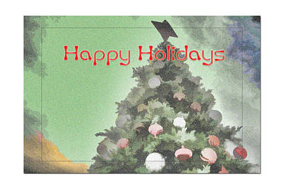 Digital Art - Happy Holidays  by Audreen Gieger