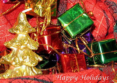 Photograph - Happy Holidays by Brian Chase