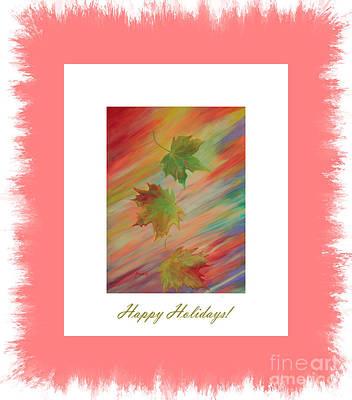 Digital Art - Special. Happy Holidays. Colours Of Autumn by Oksana Semenchenko