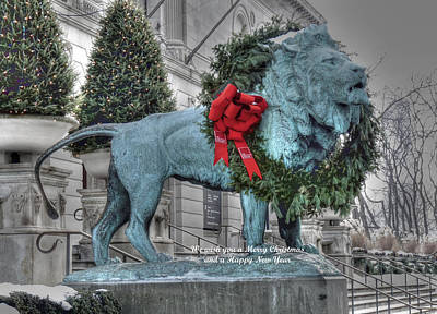 Photograph - Happy Holidays by David Bearden