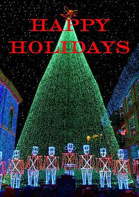 Happy Holidays Art Print by David Lee Thompson