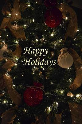 Photograph - Happy Holidays by Deena Stoddard
