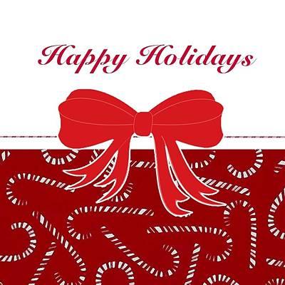 Digital Art - Happy Holidays by Florene Welebny
