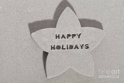 Photograph - Happy Holidays From Florida by Diane Macdonald