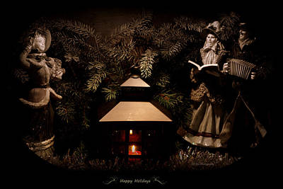 Photograph - Happy Holidays Greetings by Jeanette C Landstrom