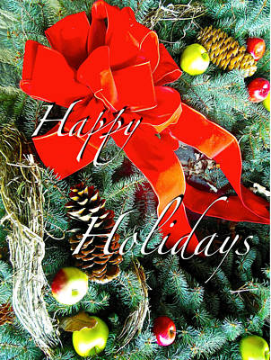 Photograph - Happy Holidays by Joan Reese