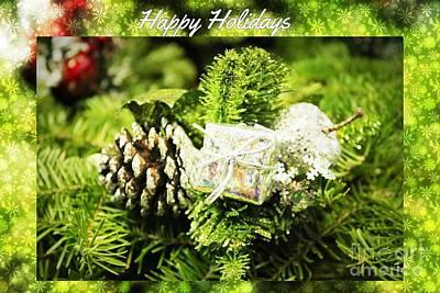 Photograph - Happy Holidays by Judy Palkimas