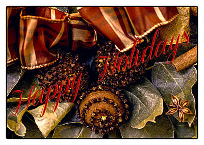Photograph - Happy Holidays  by Julie Palencia