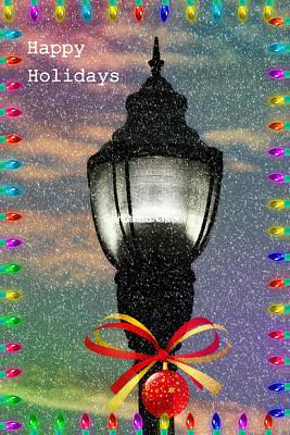 Photograph - Happy Holidays  by Kay Novy