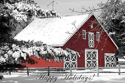 Photograph - Happy Holidays by Living Color Photography Lorraine Lynch