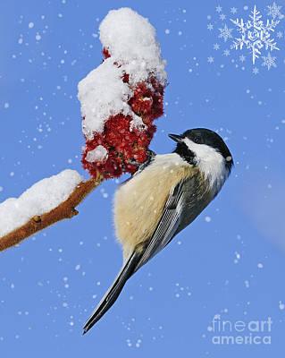 Happy Holidays... Art Print by Nina Stavlund