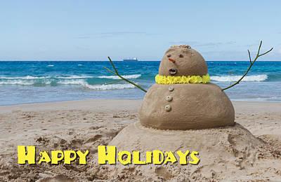 Photograph - Happy Holidays Sandman by Denise Bird