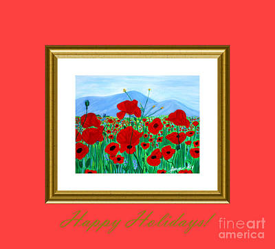Digital Art - Happy Holidays. Soul Collection by Oksana Semenchenko
