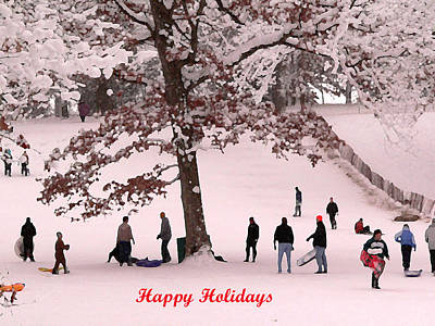 Photograph - Happy Holidays To You by David Bearden