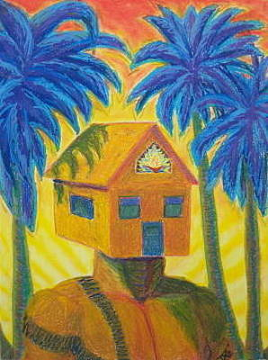 Pastel - Happy Home by Dennis Goodbee