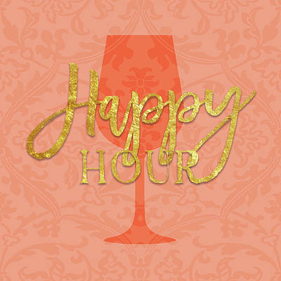 Happy Hour Wall Art - Painting - Happy Hour by Amy Cummings
