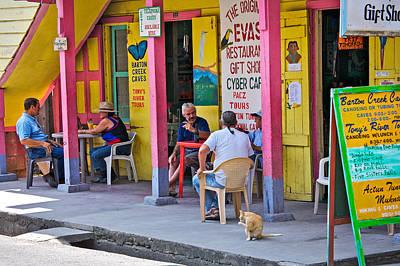 Happy Hour In Belize Art Print