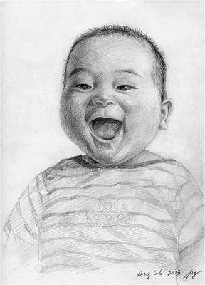 Painting - Happy Jimmy by Ping Yan