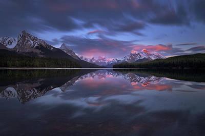 Banff Photograph - Happy Maligne Day 2 by Juan Pablo De