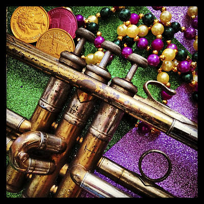 Happy Mardi Gras Art Print